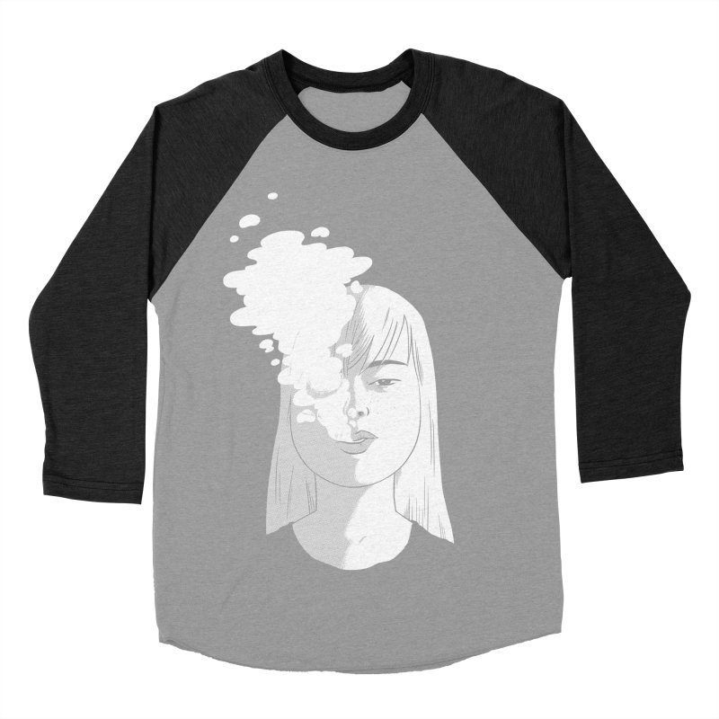 smokin' Men's Baseball Triblend Longsleeve T-Shirt by milkbarista's Artist Shop