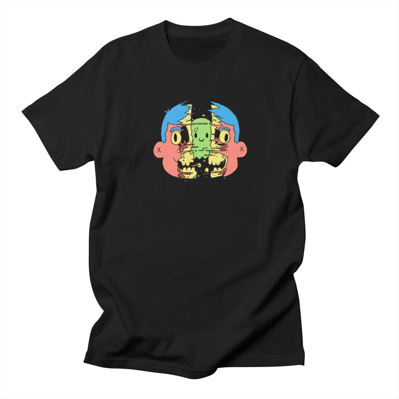 peekaboo Men's Regular T-Shirt by milkbarista's Artist Shop