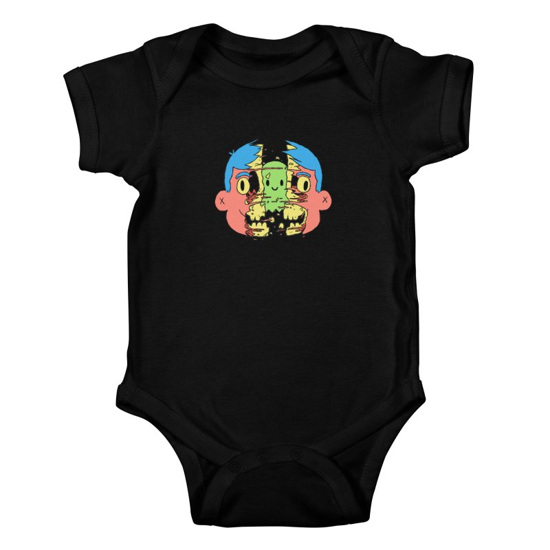 peekaboo Kids Baby Bodysuit by milkbarista's Artist Shop