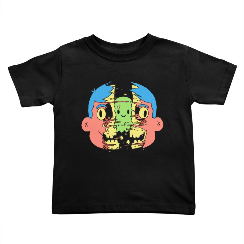 peekaboo Kids Toddler T-Shirt by milkbarista's Artist Shop