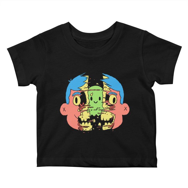 peekaboo Kids Baby T-Shirt by milkbarista's Artist Shop