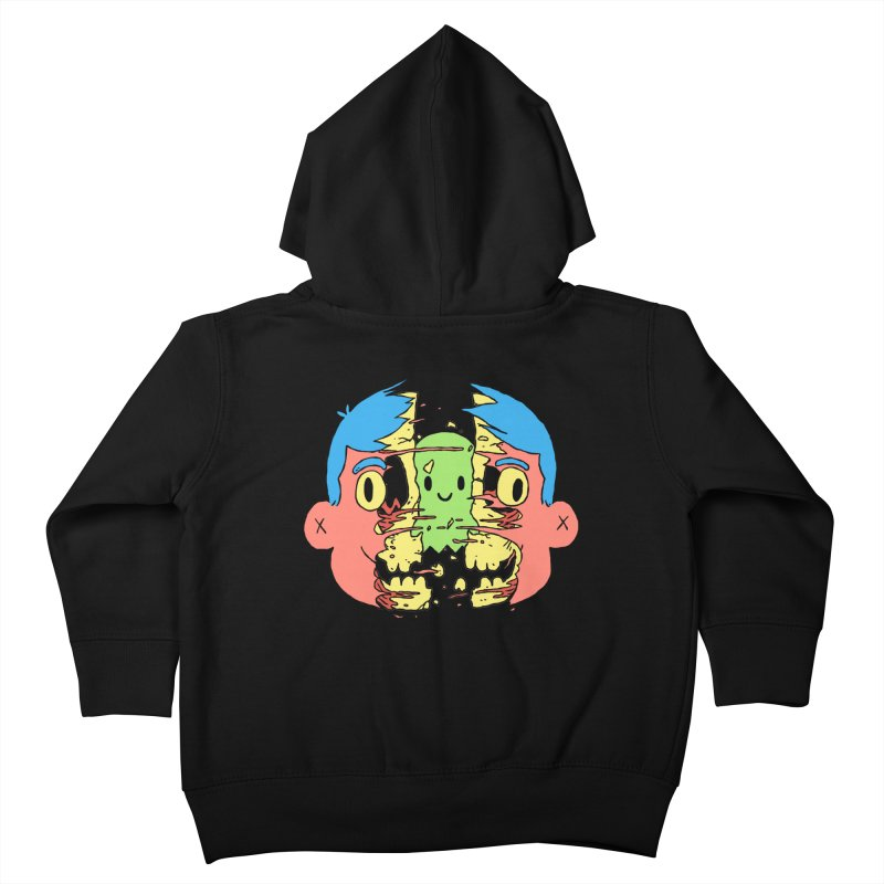 peekaboo Kids Toddler Zip-Up Hoody by milkbarista's Artist Shop