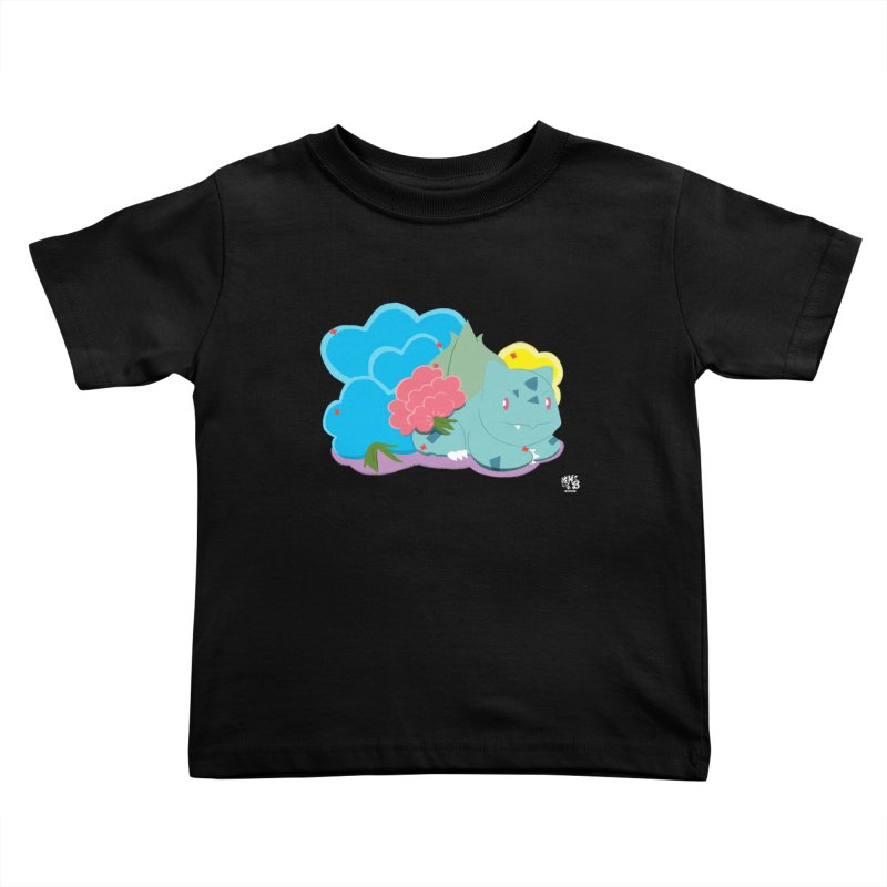 Bulbasaur Kids Toddler T-Shirt by Milk Bread