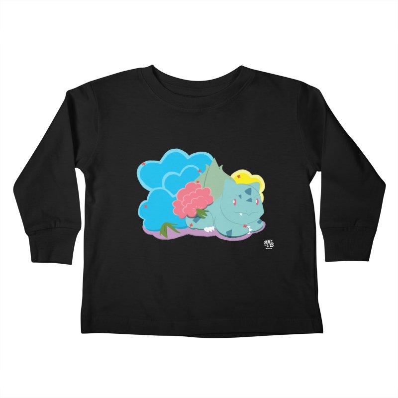 Bulbasaur Kids Toddler Longsleeve T-Shirt by Milk Bread