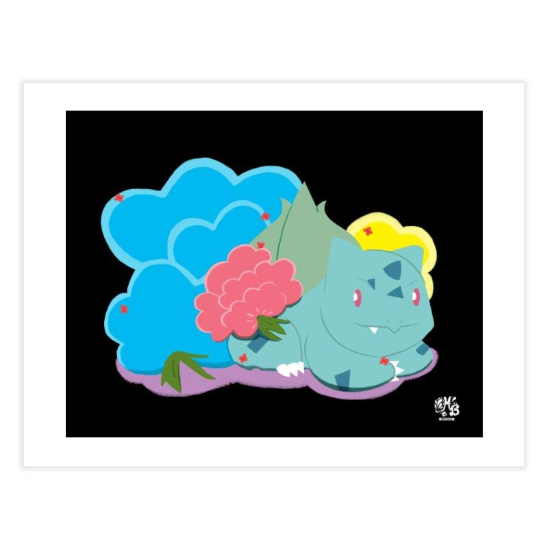 Bulbasaur Home Fine Art Print by Milk Bread