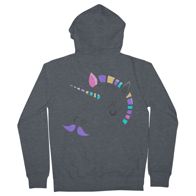 UNICORN - SINCE FOREVER Women's Zip-Up Hoody by milky's Artist Shop