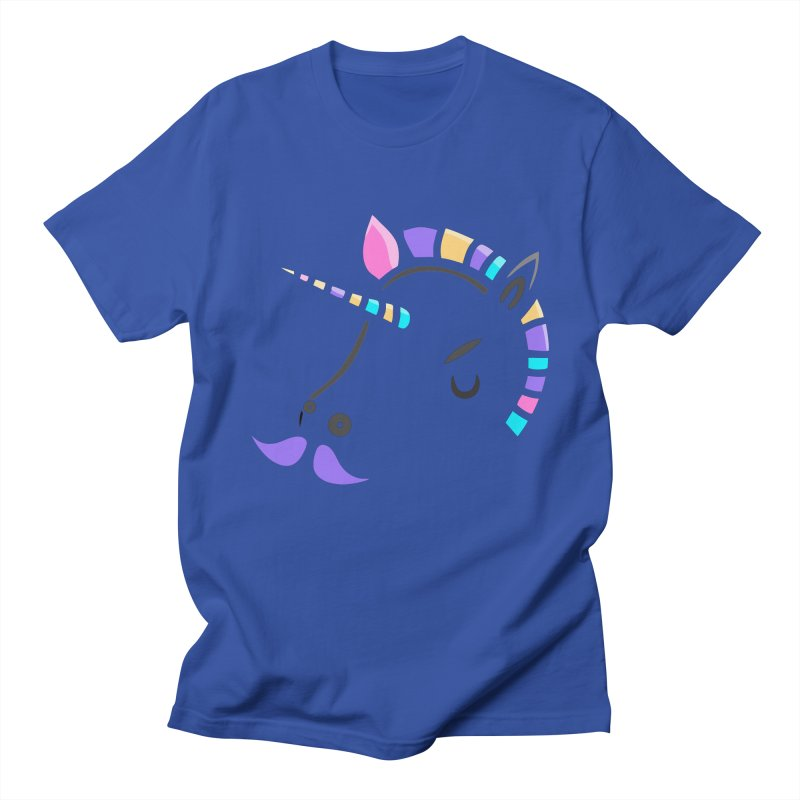 UNICORN - SINCE FOREVER Men's T-shirt by milky's Artist Shop