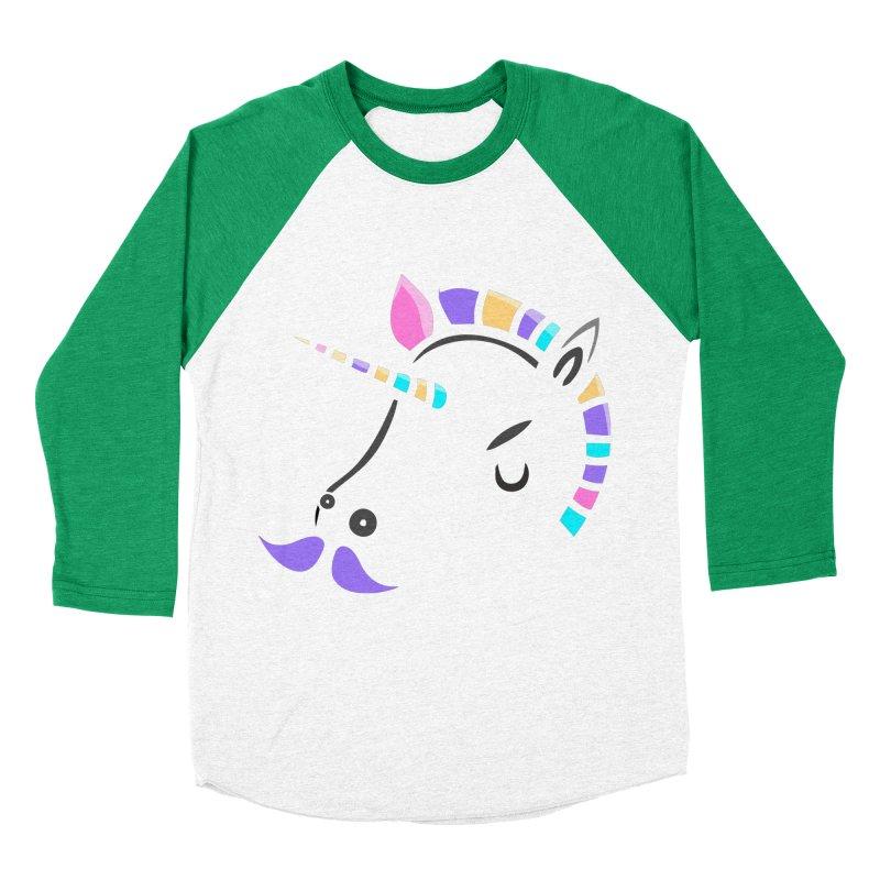 UNICORN - SINCE FOREVER Men's Baseball Triblend T-Shirt by milky's Artist Shop