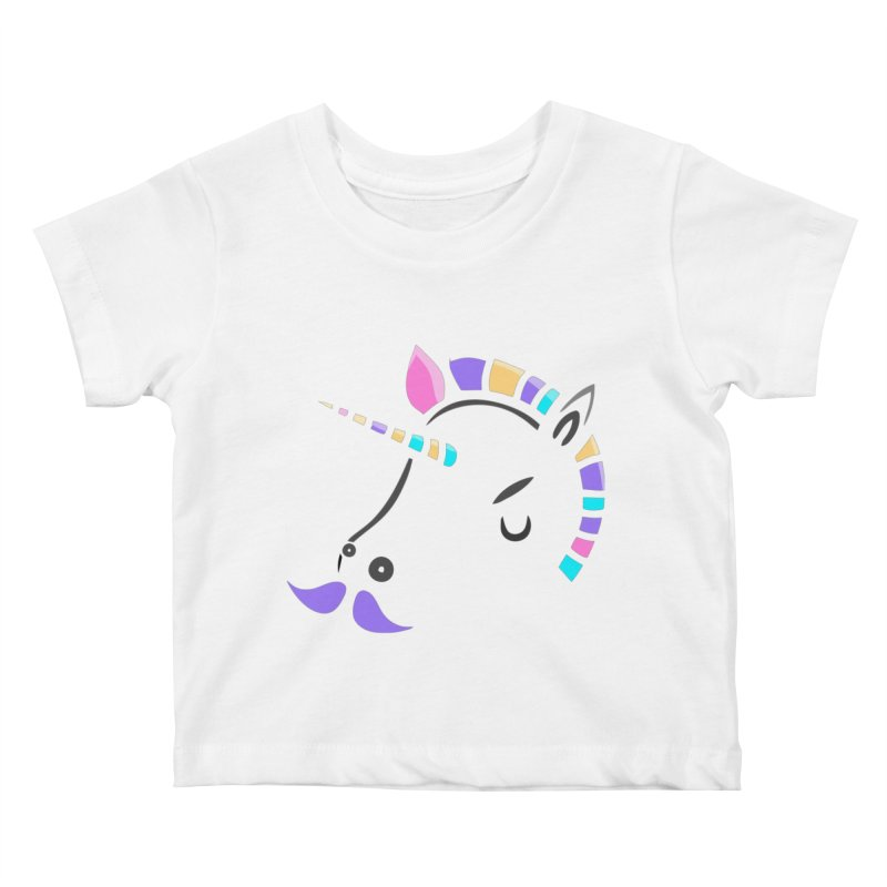 UNICORN - SINCE FOREVER Kids Baby T-Shirt by milky's Artist Shop