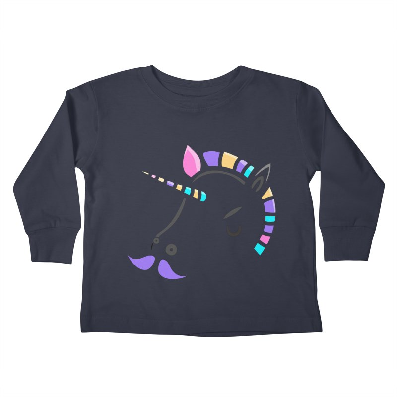 UNICORN - SINCE FOREVER Kids Toddler Longsleeve T-Shirt by milky's Artist Shop