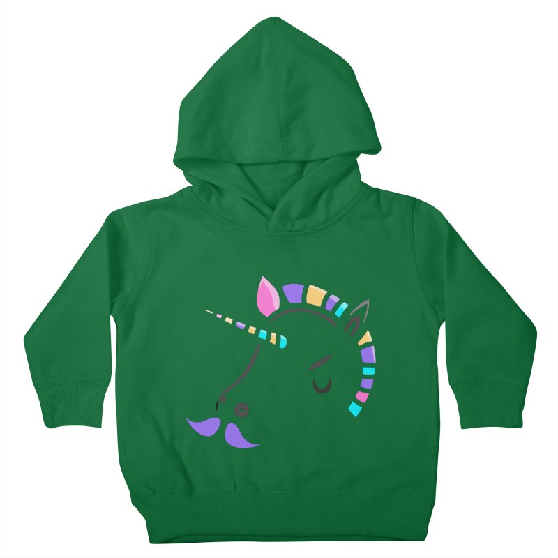 UNICORN - SINCE FOREVER Kids Toddler Pullover Hoody by milky's Artist Shop