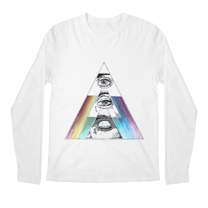 We are Watching you ! Men's Longsleeve T-Shirt by milky's Artist Shop