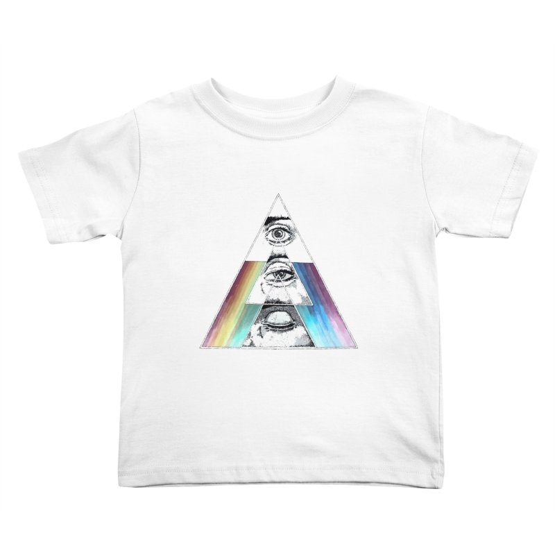 We are Watching you ! Kids Toddler T-Shirt by milky's Artist Shop