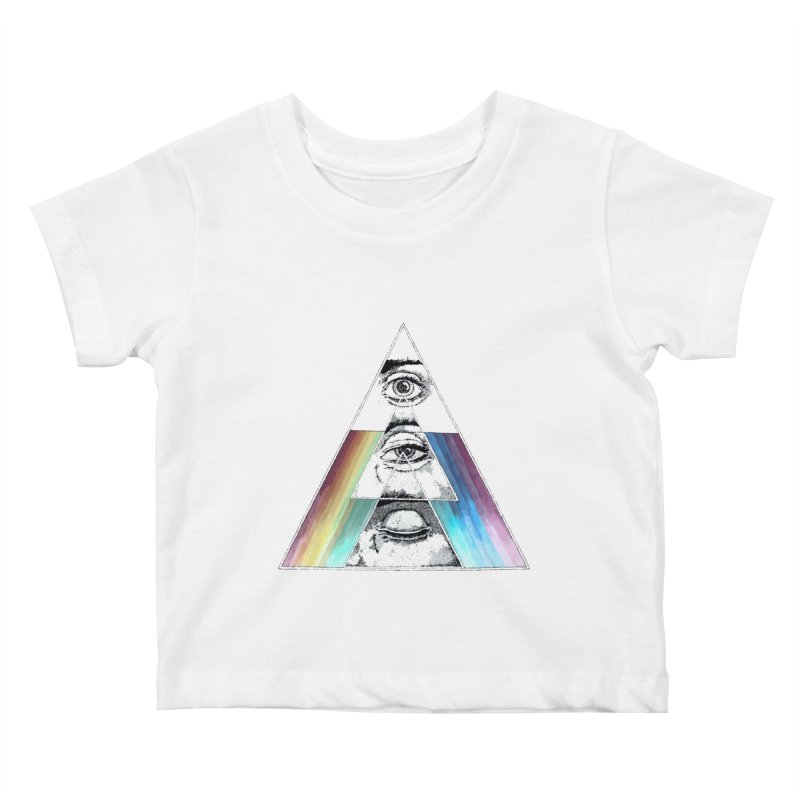 We are Watching you ! Kids Baby T-Shirt by milky's Artist Shop