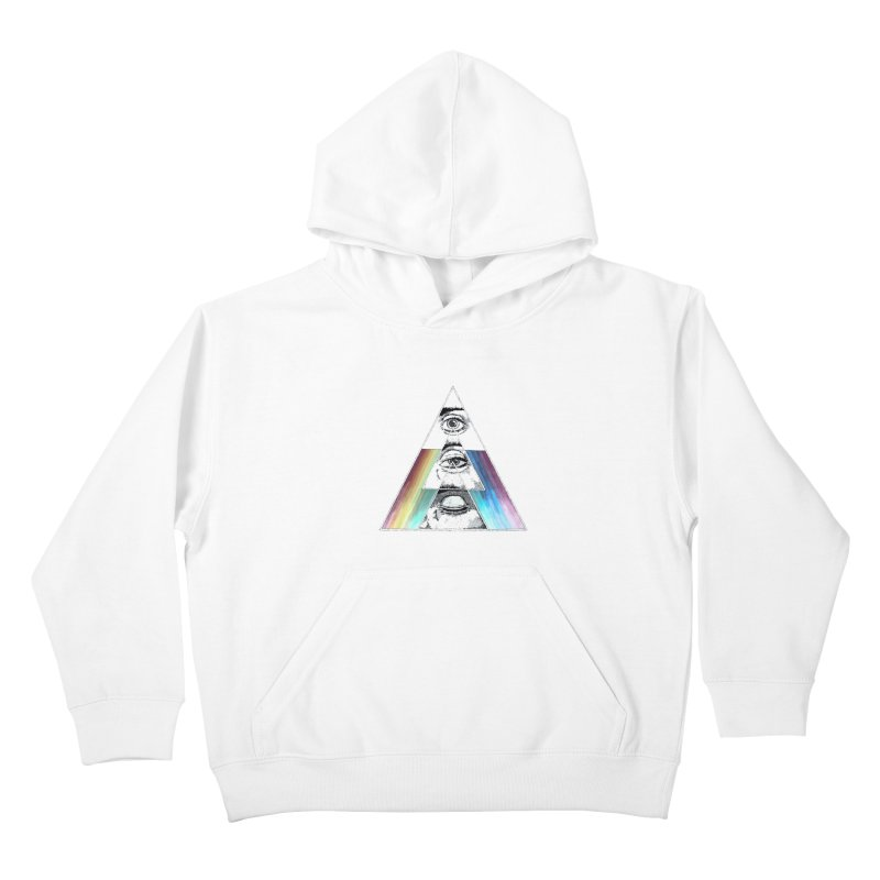 We are Watching you ! Kids Pullover Hoody by milky's Artist Shop