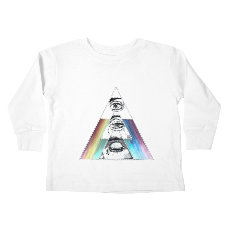 We are Watching you ! Kids Toddler Longsleeve T-Shirt by milky's Artist Shop