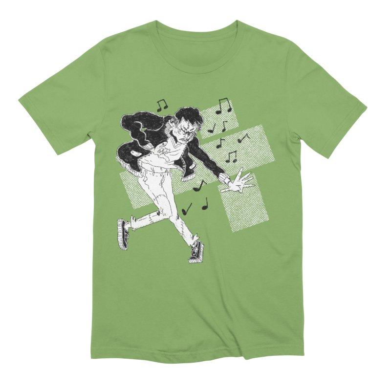Dance Frankie Dance Men's Extra Soft T-Shirt by miltondidi's Artist Shop