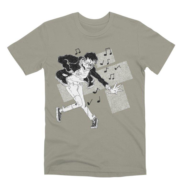Dance Frankie Dance Men's Premium T-Shirt by miltondidi's Artist Shop