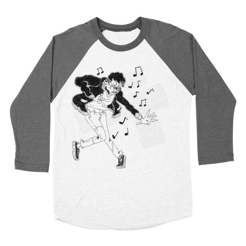 Dance Frankie Dance Men's Baseball Triblend Longsleeve T-Shirt by miltondidi's Artist Shop