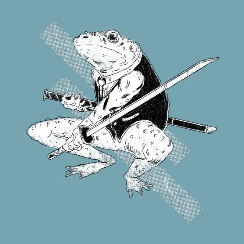 Samurai Toad by miltondidi's Artist Shop