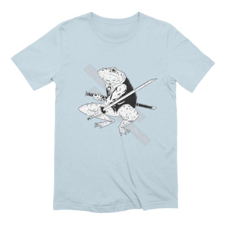 Samurai Toad Men's Extra Soft T-Shirt by miltondidi's Artist Shop