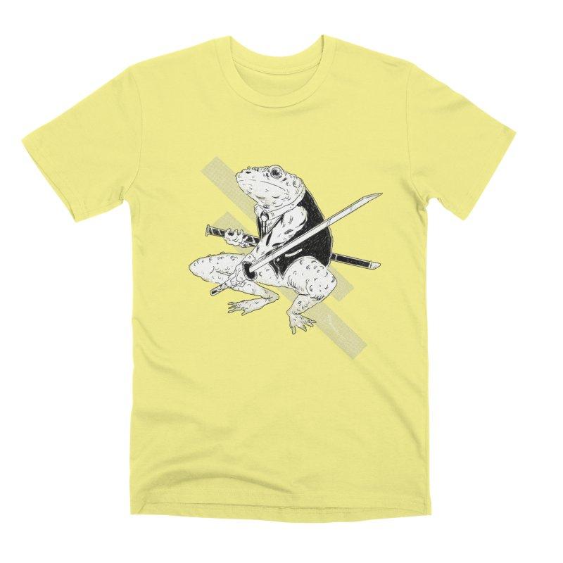 Samurai Toad Men's Premium T-Shirt by miltondidi's Artist Shop