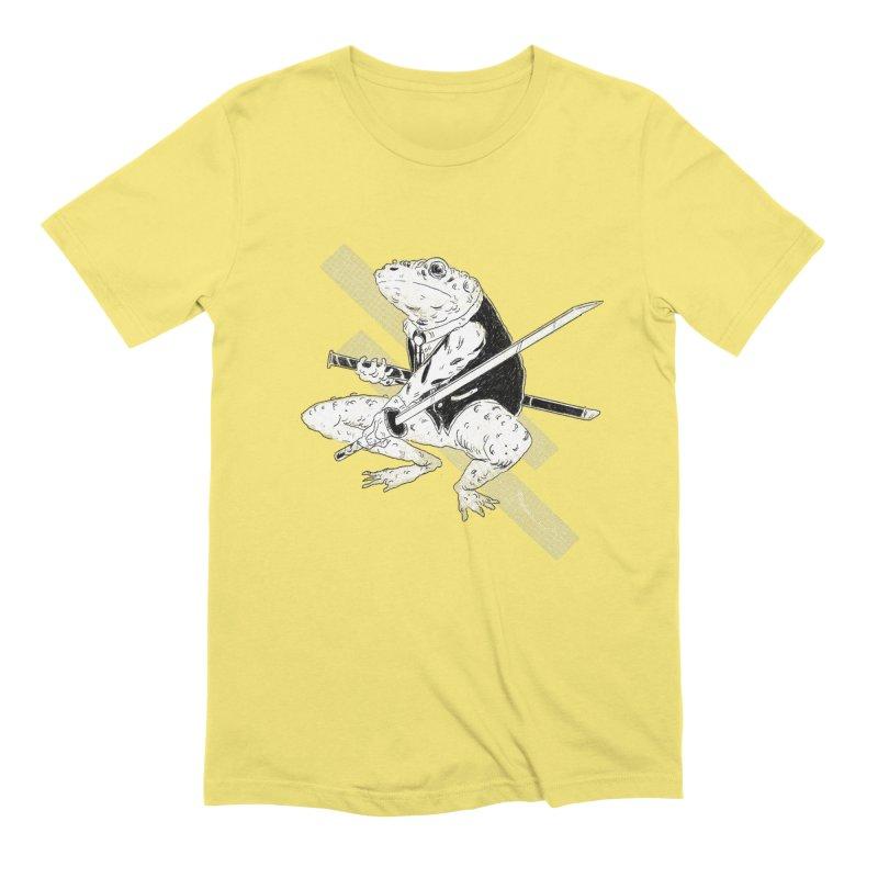 Samurai Toad Men's T-Shirt by miltondidi's Artist Shop