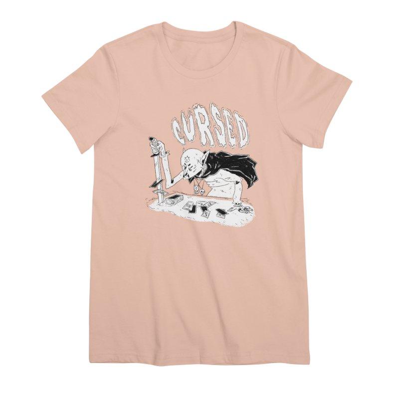 Cursed Women's Premium T-Shirt by miltondidi's Artist Shop
