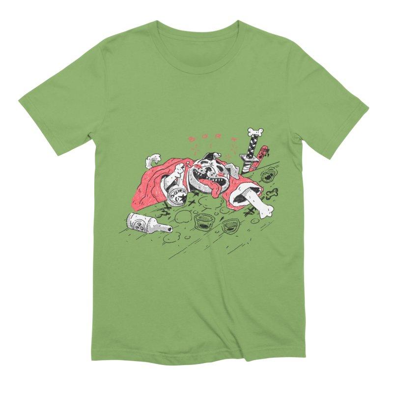 BORK Bulldog Men's T-Shirt by miltondidi's Artist Shop
