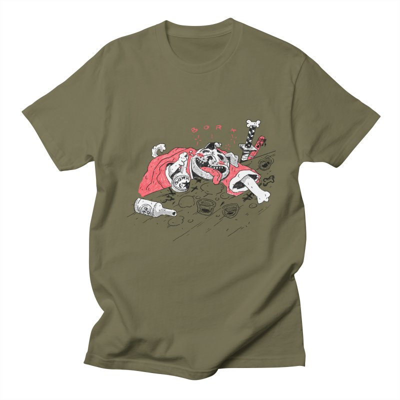 BORK Bulldog Men's T-Shirt by miltondidi's Artist Shop