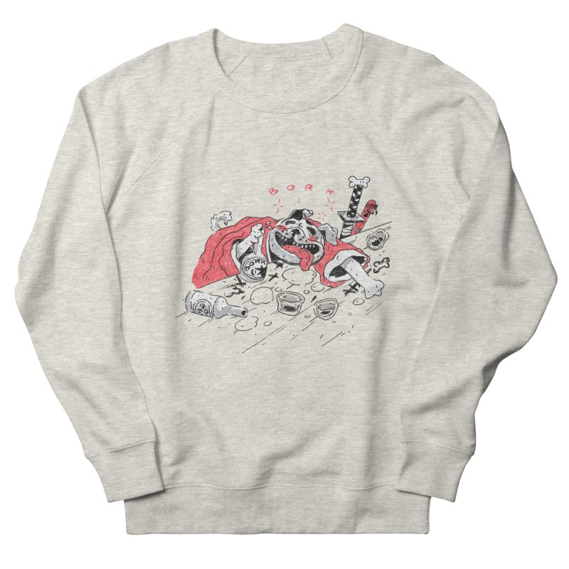 BORK Bulldog Men's Sweatshirt by miltondidi's Artist Shop