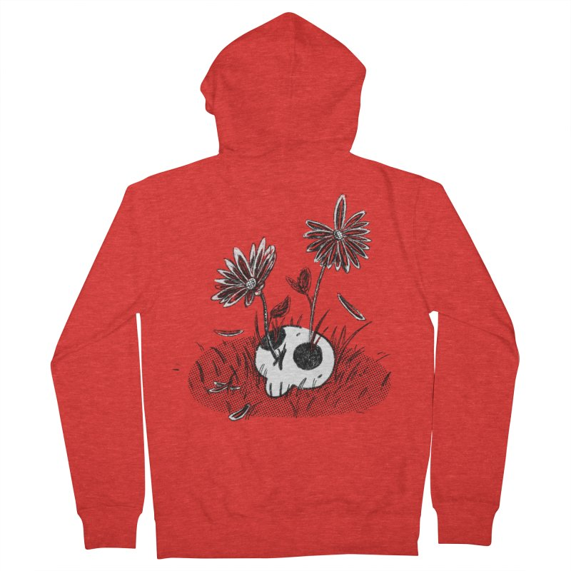 Spring Flowers Men's Zip-Up Hoody by miltondidi's Artist Shop
