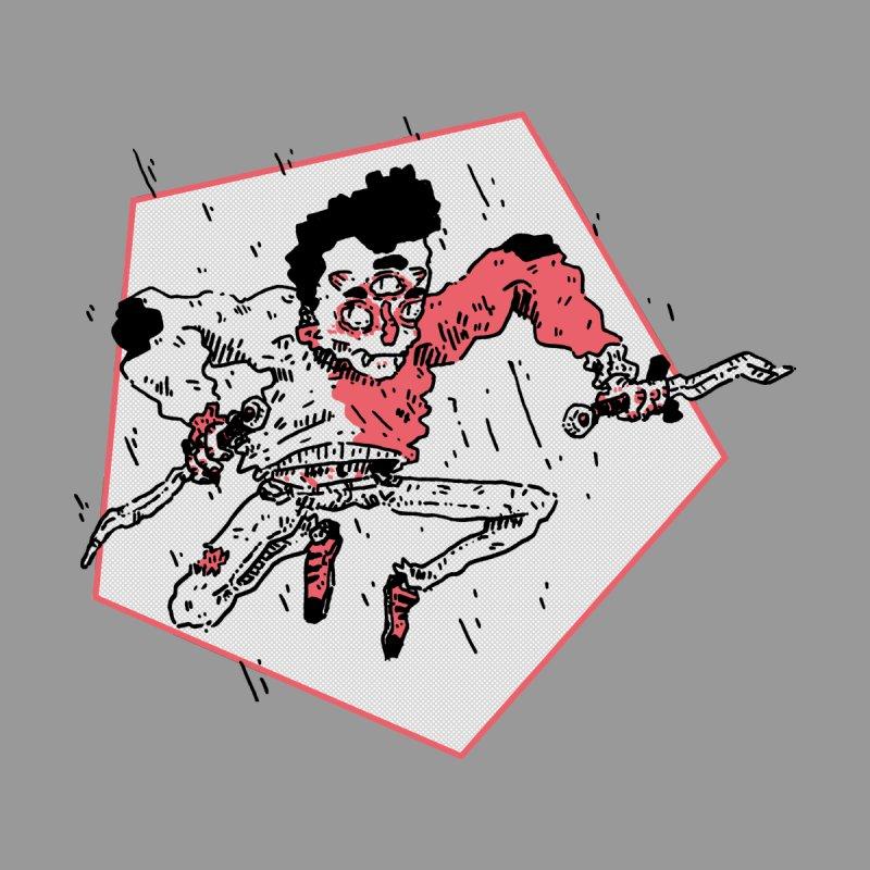 Jump Around  Men's Zip-Up Hoody by miltondidi's Artist Shop