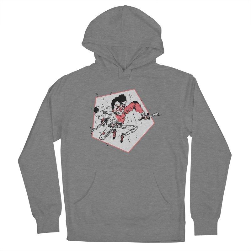 Jump Around  Women's Pullover Hoody by miltondidi's Artist Shop