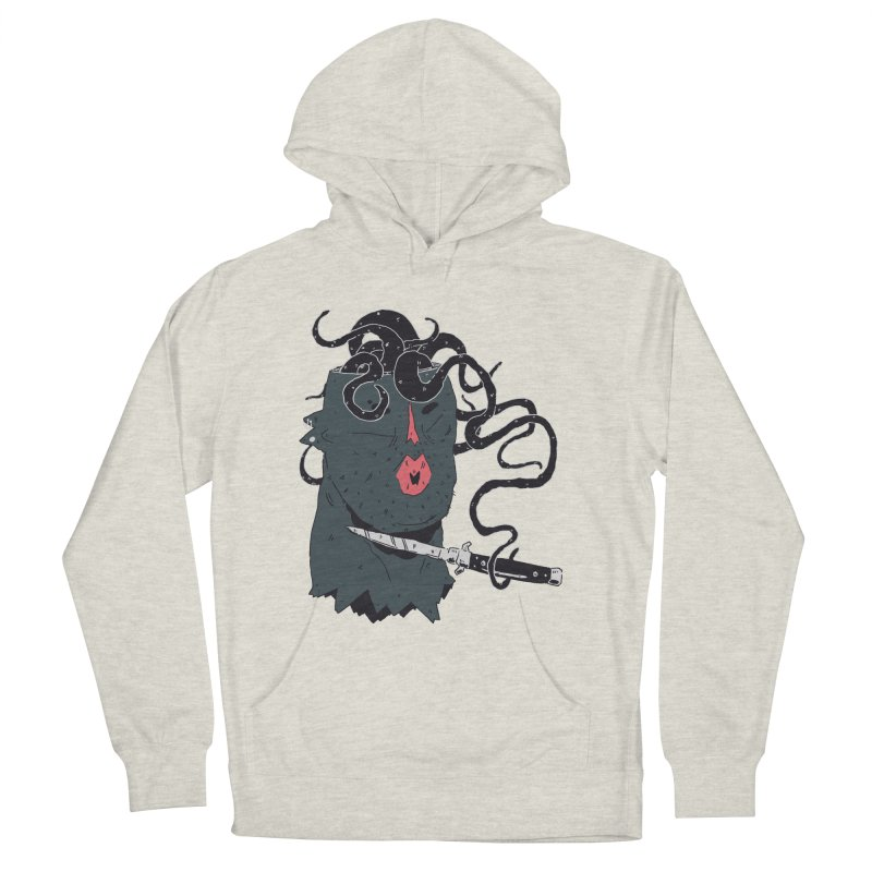 Thinking is Dangerous  Women's French Terry Pullover Hoody by miltondidi's Artist Shop