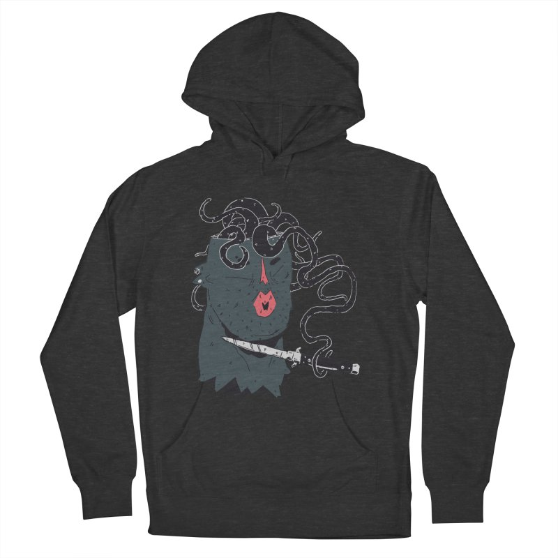 Thinking is Dangerous  Men's French Terry Pullover Hoody by miltondidi's Artist Shop