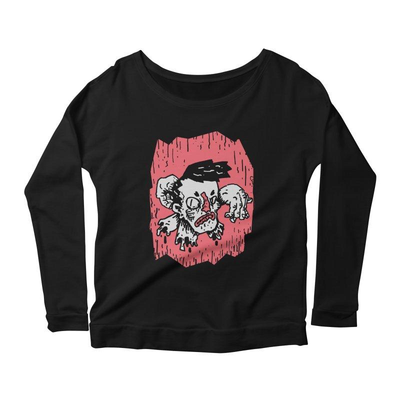 Arms Crossed Women's Scoop Neck Longsleeve T-Shirt by miltondidi's Artist Shop