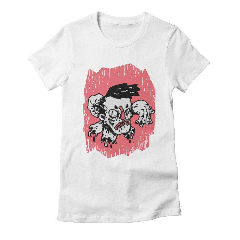 Arms Crossed Women's Fitted T-Shirt by miltondidi's Artist Shop