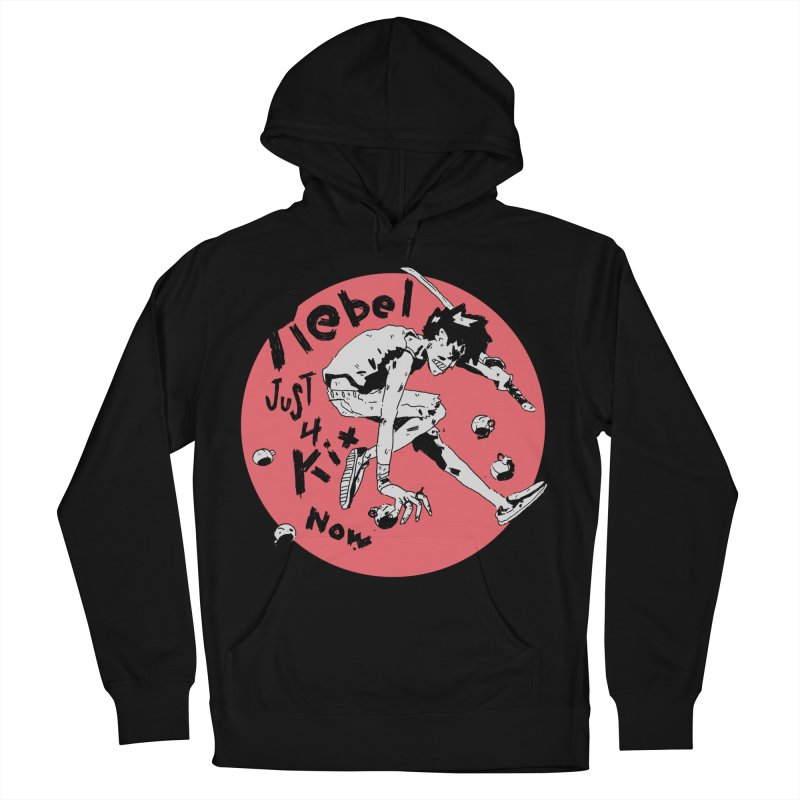 Rebel 4 kix Women's French Terry Pullover Hoody by miltondidi's Artist Shop