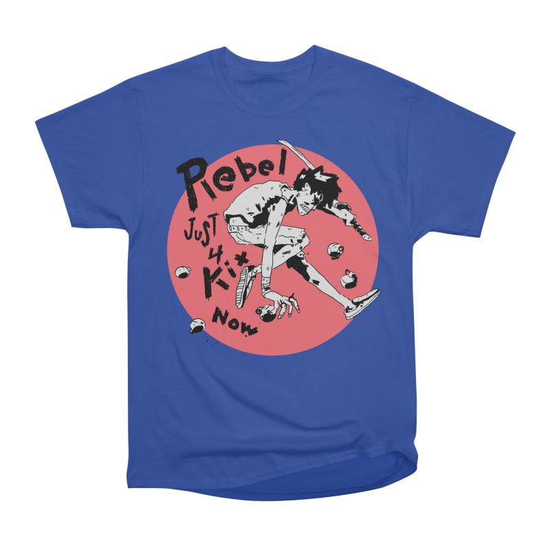 Rebel 4 kix Women's Heavyweight Unisex T-Shirt by miltondidi's Artist Shop