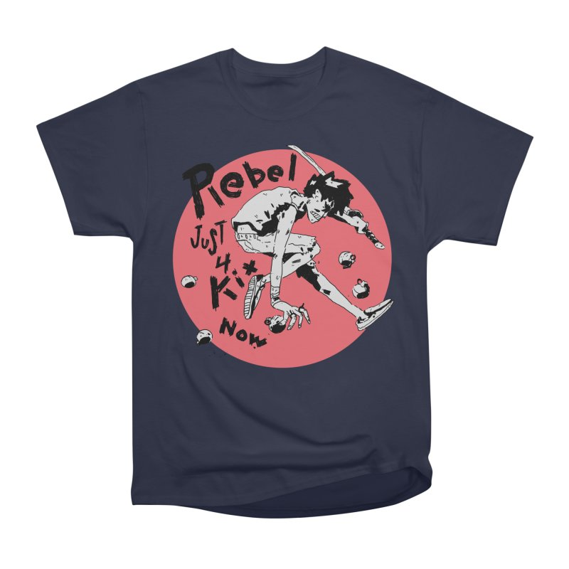 Rebel 4 kix Men's Heavyweight T-Shirt by miltondidi's Artist Shop