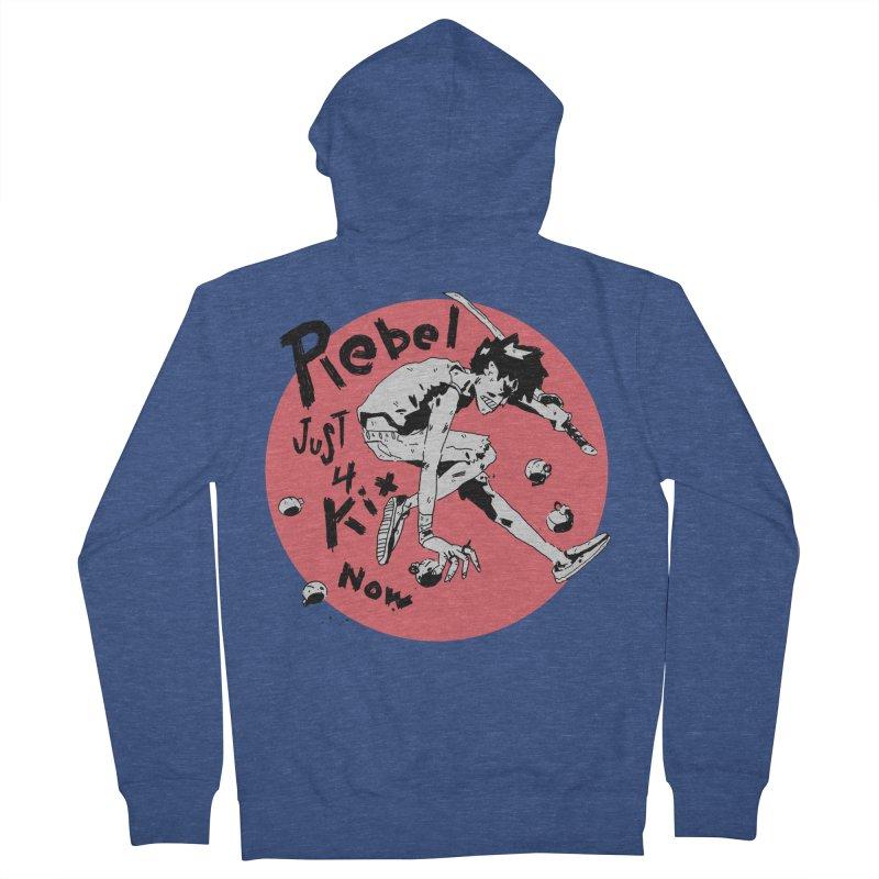 Rebel 4 kix Women's French Terry Zip-Up Hoody by miltondidi's Artist Shop