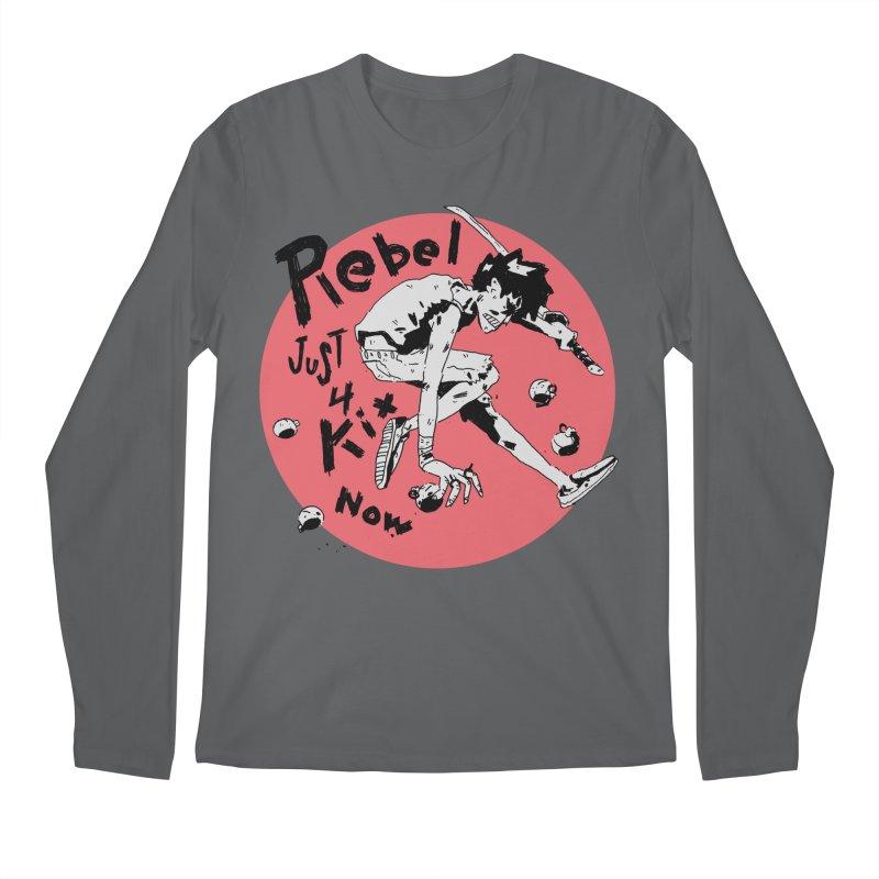 Rebel 4 kix Men's Longsleeve T-Shirt by miltondidi's Artist Shop