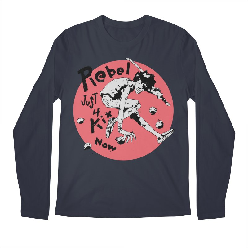 Rebel 4 kix Men's Regular Longsleeve T-Shirt by miltondidi's Artist Shop