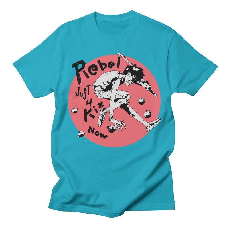 Rebel 4 kix Women's Regular Unisex T-Shirt by miltondidi's Artist Shop