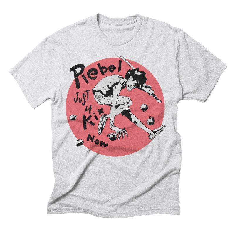 Rebel 4 kix Men's Triblend T-Shirt by miltondidi's Artist Shop