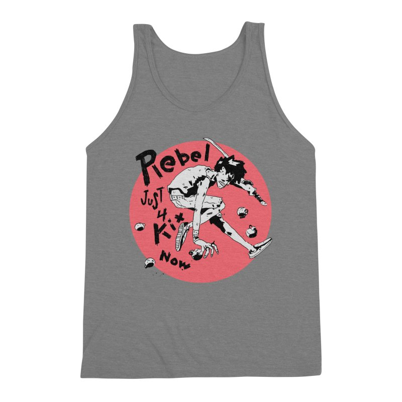 Rebel 4 kix Men's Triblend Tank by miltondidi's Artist Shop