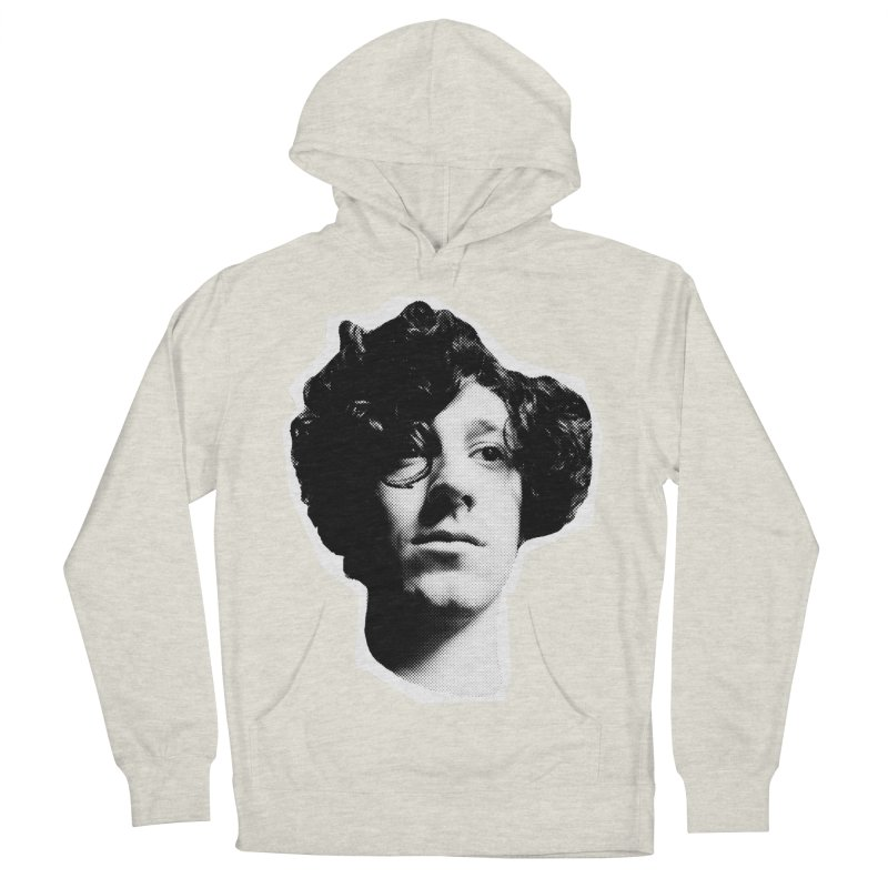 handsome Women's French Terry Pullover Hoody by miltondidi's Artist Shop
