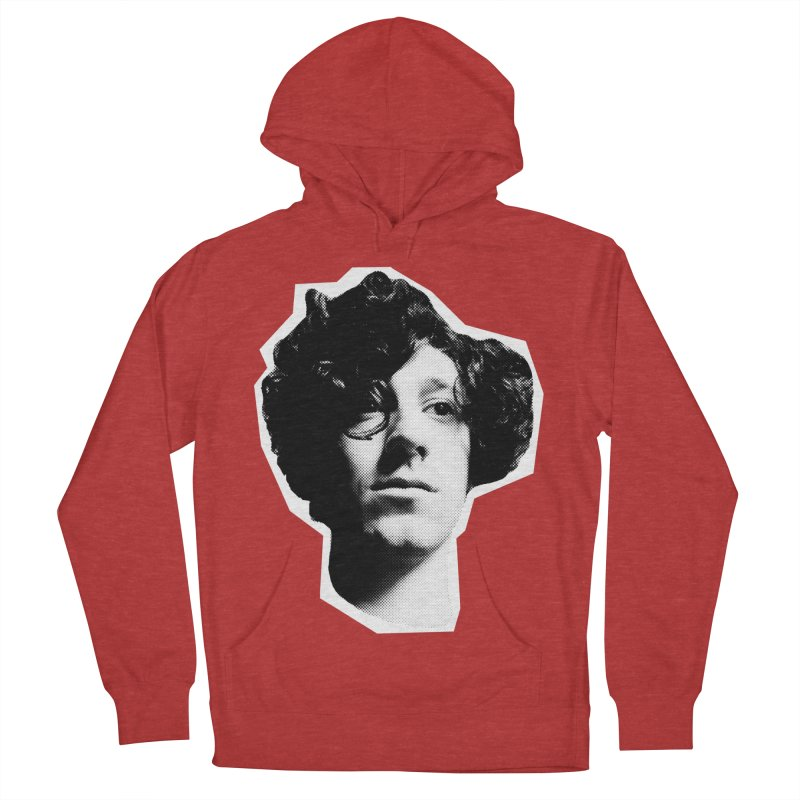 handsome Men's French Terry Pullover Hoody by miltondidi's Artist Shop