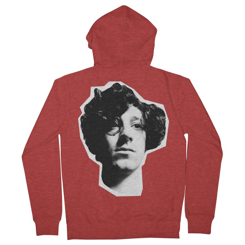 handsome Women's French Terry Zip-Up Hoody by miltondidi's Artist Shop